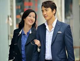 The new couple in a scene from their joint movie