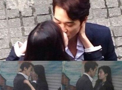 According to Song Seung Heon, this scene was shot on the very first day of filming. Talk about instant chemistry!