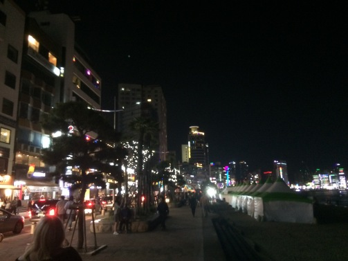 Gwangalli by night